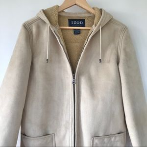 Faux shearling coat IZOD - Price ⬇️